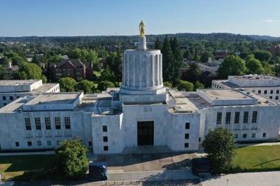 Oregon's capitol building
