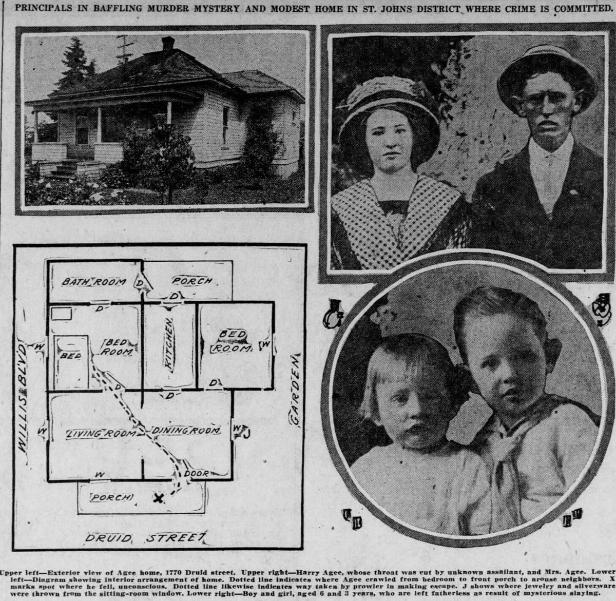 Sordid Portland slasher murder still baffling 100 years later