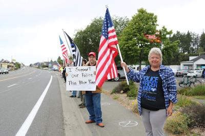 Law enforcement celebrated at Brookings Rally