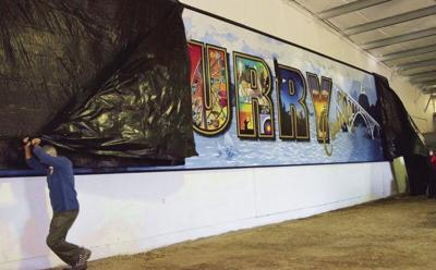 Curry County mural
