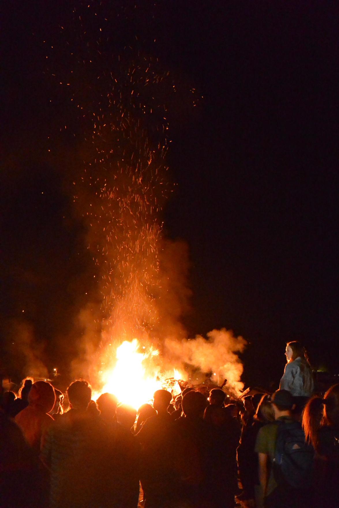 Homecoming Bon Fire
