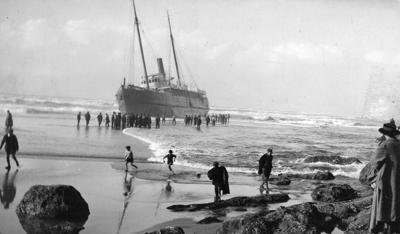 The steamship Santa Clara