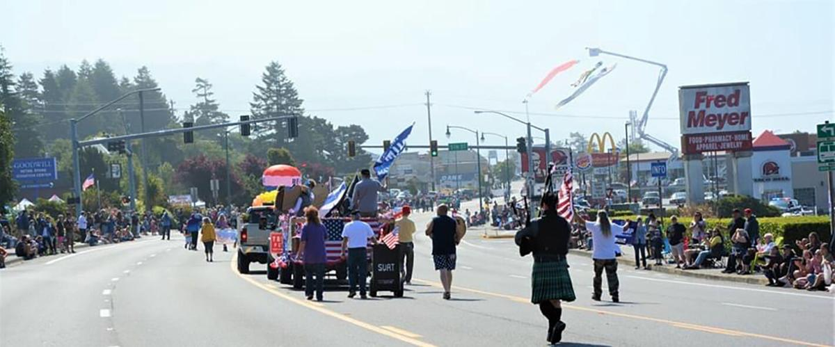 windsocks with parade