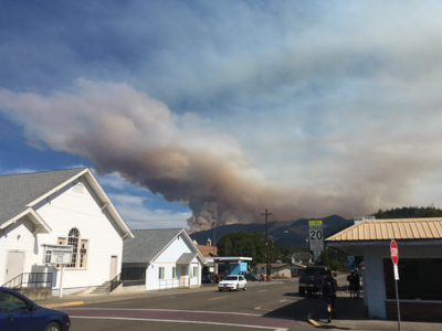 Coast winds keep wildfire smoke out of Curry County – so far