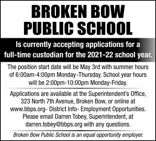 Broken Bow Public Shcools