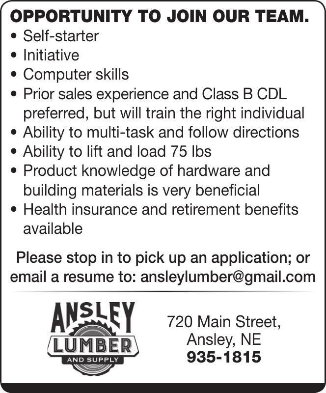 Ansley Lumber & Supply