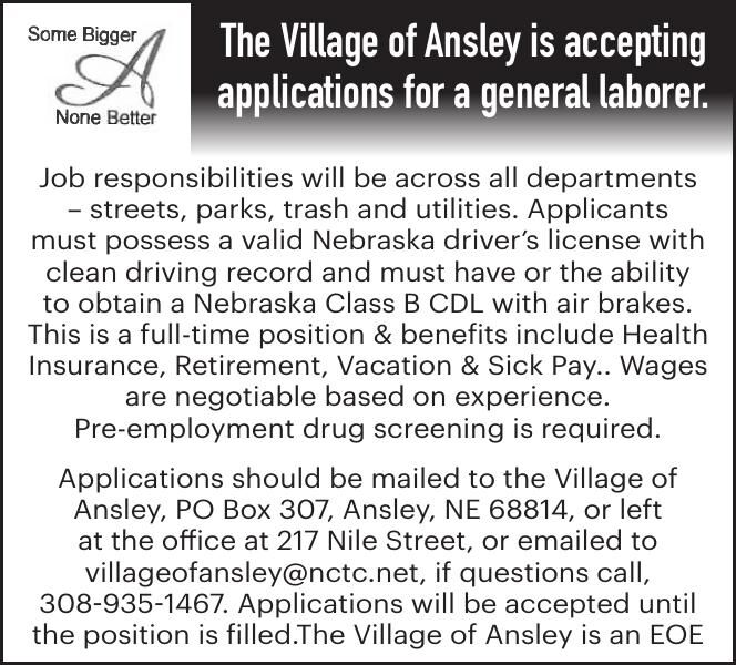 Village of Ansley