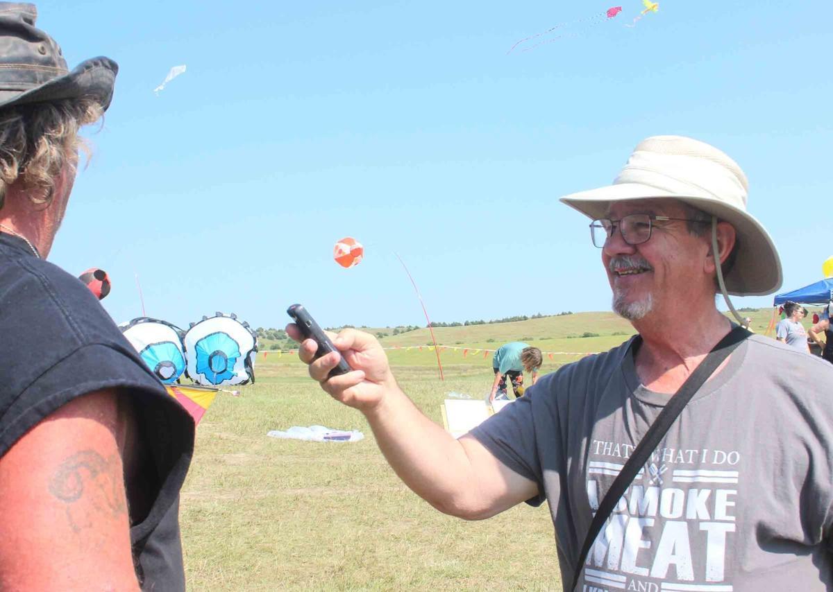 Mike Wendorff Callaway Courier interview kite flight Sept5 2021