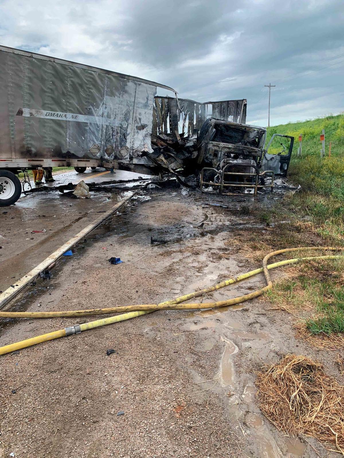 NSP June 20 2020 crash trailer fireworks NSP Fremont 1