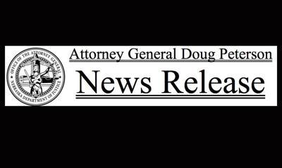Nebraska Attorney General Doug Peterson News Release