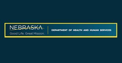 Nebraska DHHS Dept of Health and Human Services logo letterhead April 2020