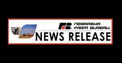 Nebraska Farm Bureau New Release logo letterhead