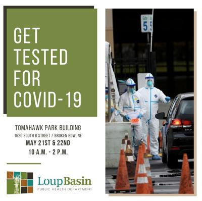 Testing May 21 May 20 2020 in Broken Bow COVID-19