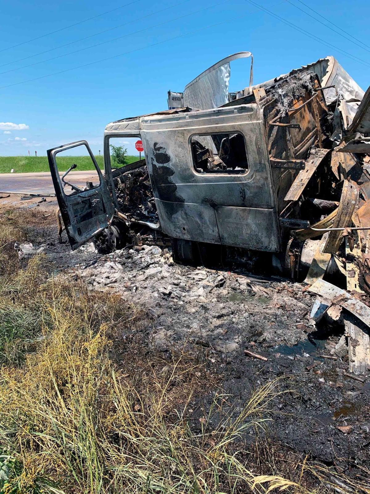 NSP June 20 2020 crash trailer fireworks NSP Fremont 2