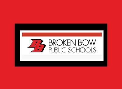 BBPS Broken Bow Public Schools logo black and red