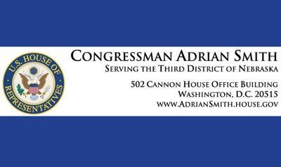 US Congressman Representative Adrian Smith letterhead logo