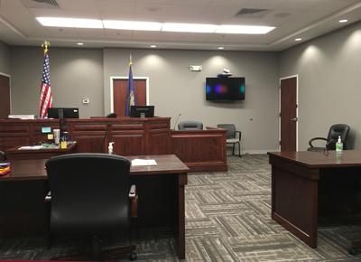 Custer County Courtroom Aug 3 2020