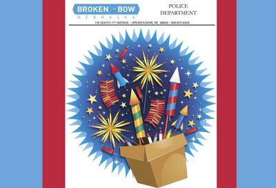 Fireworks Broken Bow Police Department June 2020