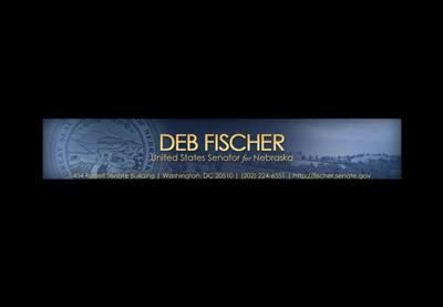 Deb Fischer US Senator Nebraska Republican logo letterhead no photo