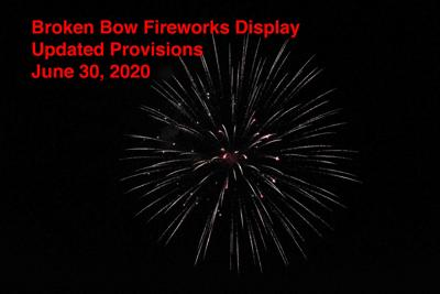Fireworks updated provisions June 30 2020