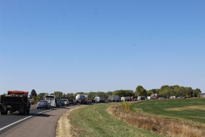 Traffic accident Hwy 2 Ryno Rd Broken Bow Oct 7 2020