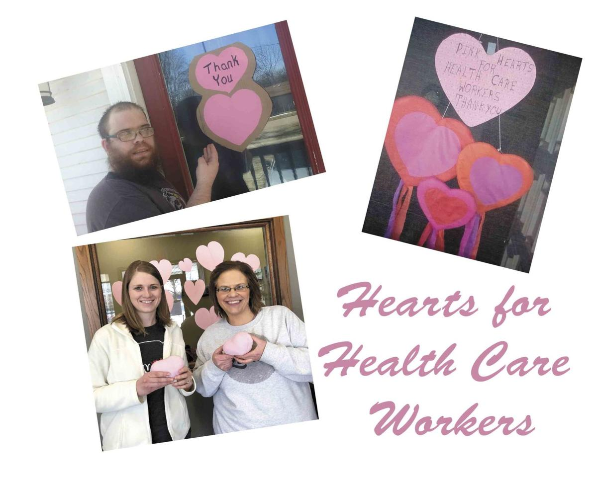 Hearts for Health Care Workers 1