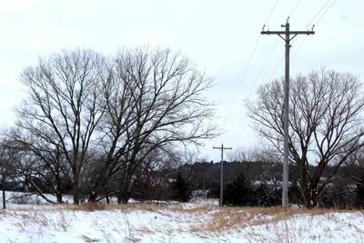 Rural power lines southern Custer County
