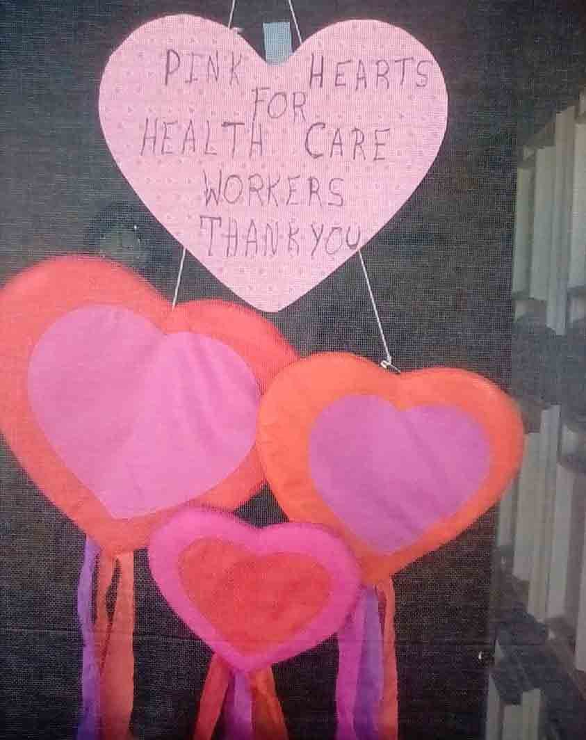 Hearts for Health Care Workers 2