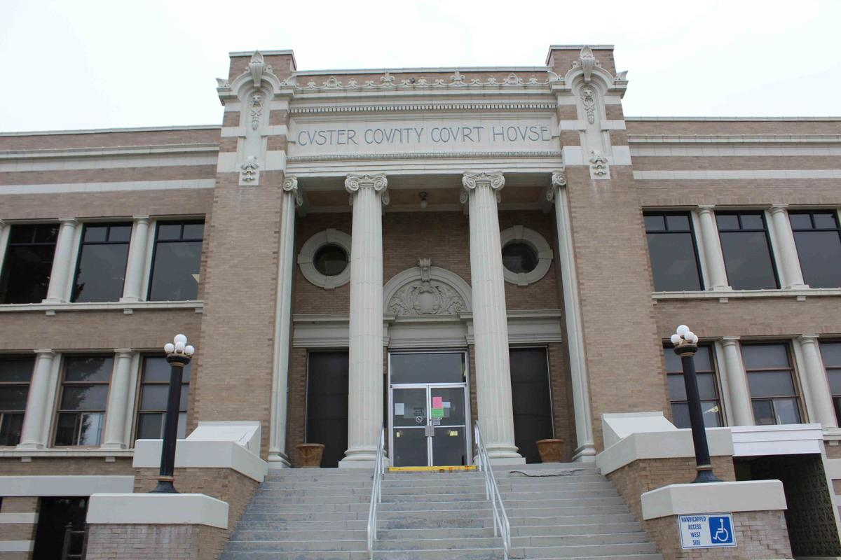 Custer County Courthouse 1 closed March 19 2020 COVI-19