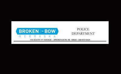 Broken Bow Police Dept news release logo letterhead