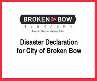 City of Broken Bow disaster declaration