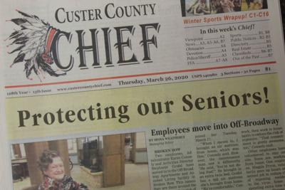 Custer County Chief March 26 2020 Protecting our Seniors