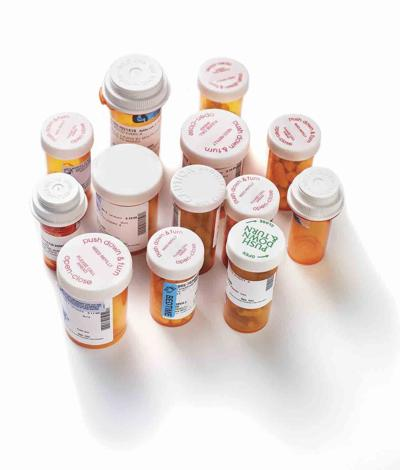 Prescription bottles drug generic image September 2020