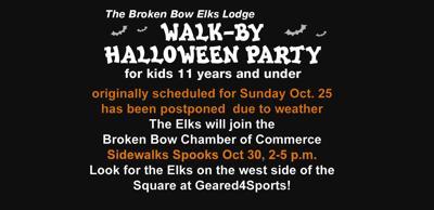 Elks walk by Halloween postponed oct 2020