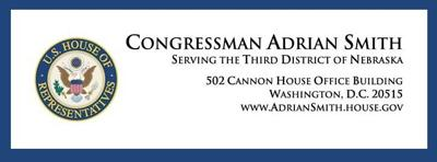 US Representative Adrian Smith letterhead logo July 2021