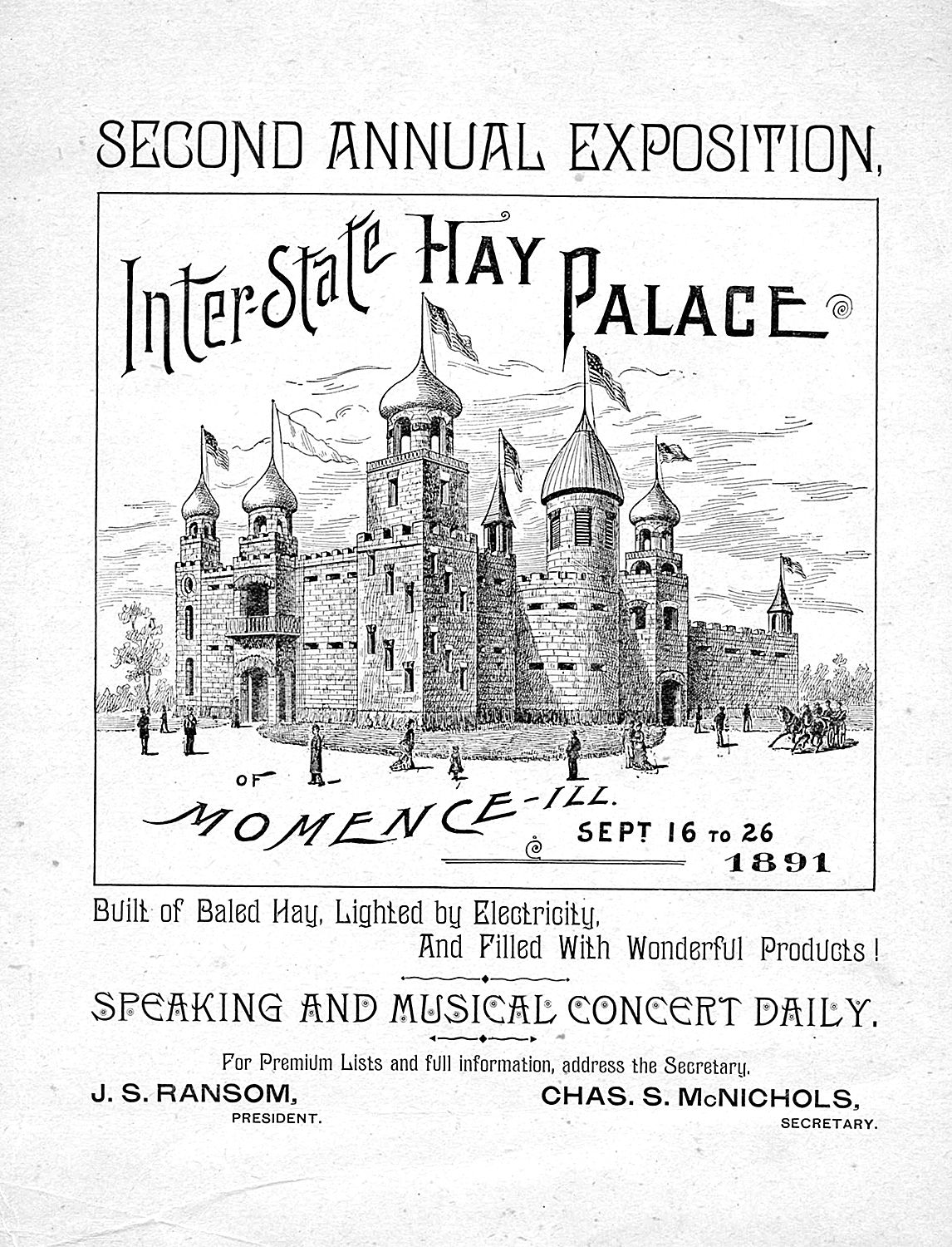 1891 poster