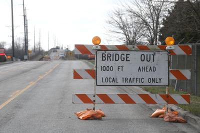 Larry Power Road bridge closed
