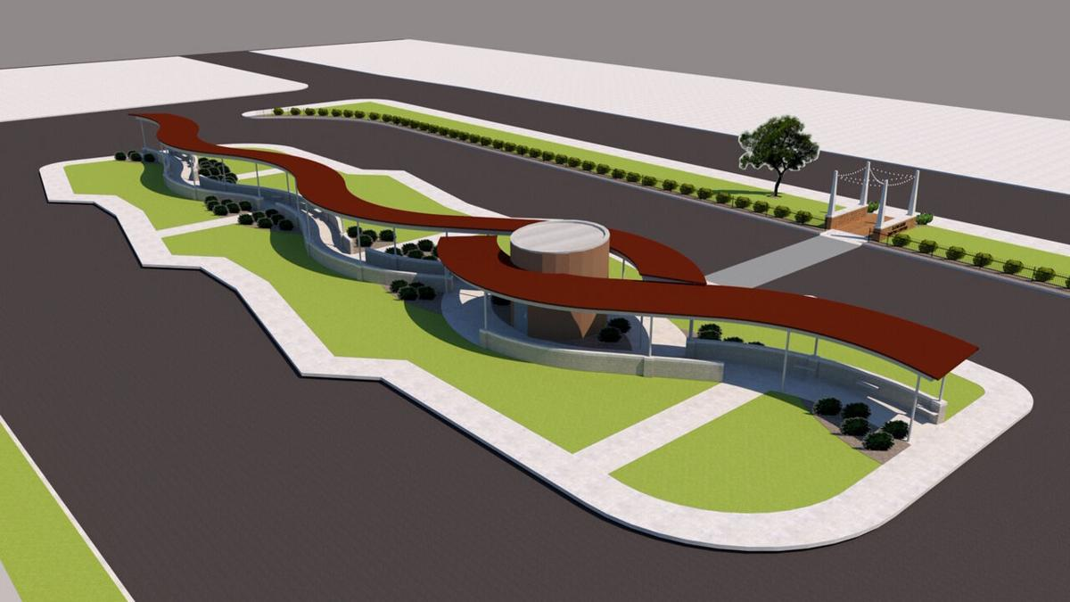 River Valley Metro new Schuyler transfer center