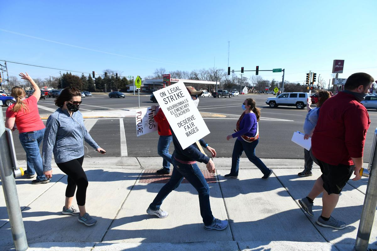 BESD teachers strike --