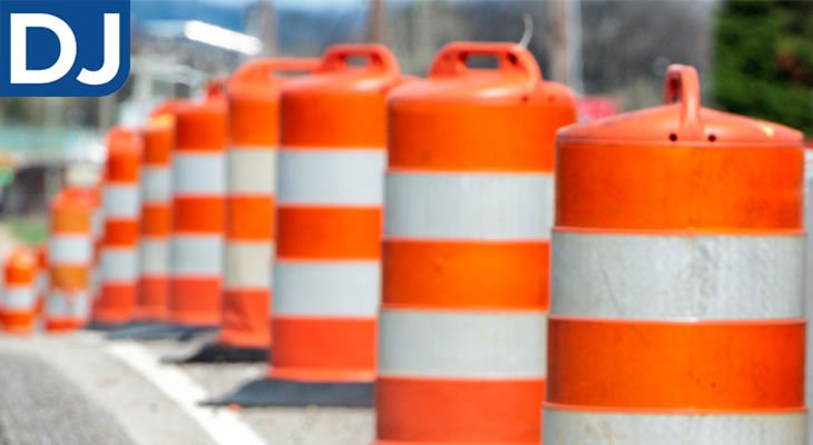 Road construction planned