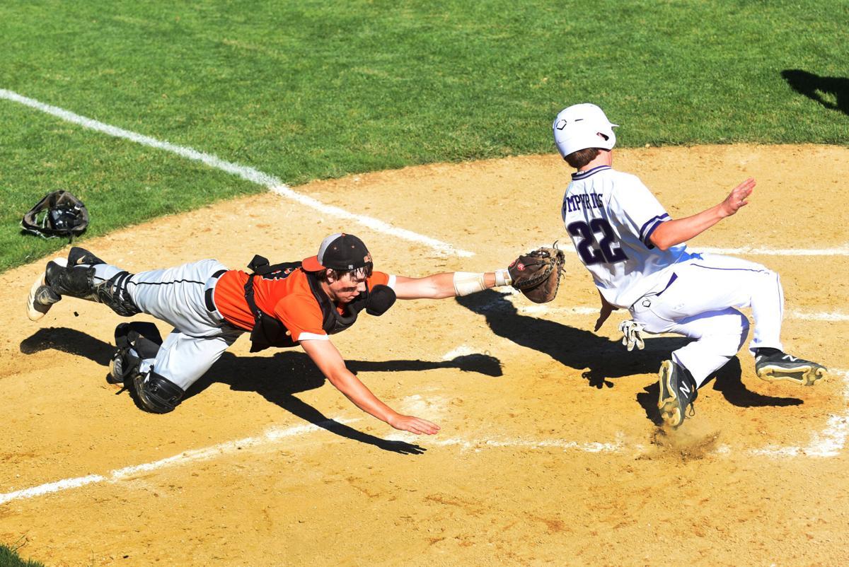 Wilmington vs. Gardner-South Wilmington baseball