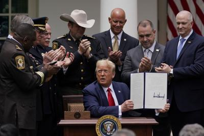President Trump signs order