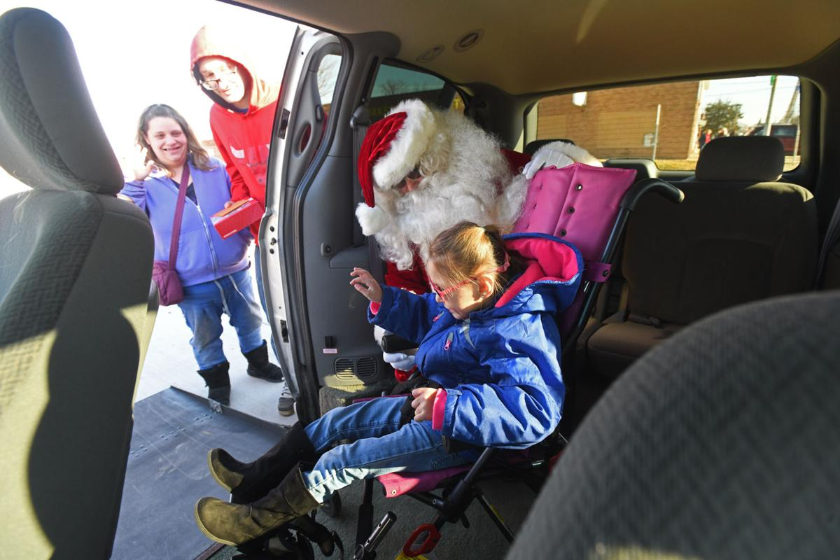 Spirit of Christmas arrives in Clifton