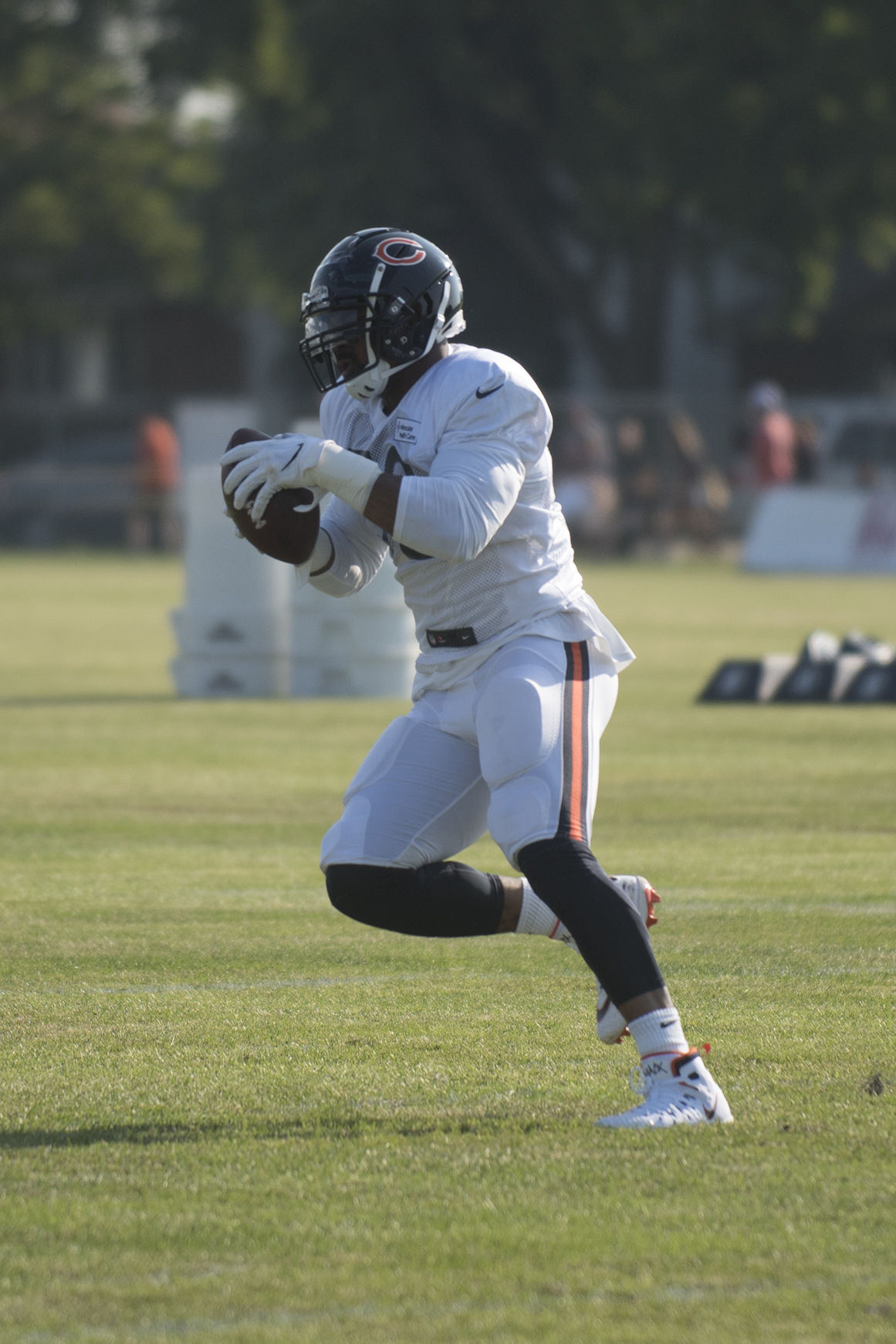 Bears hold first padded practice Sunday