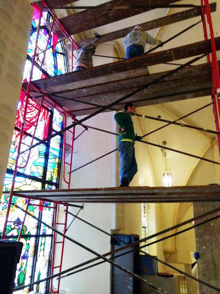 St. Rose Church restoration