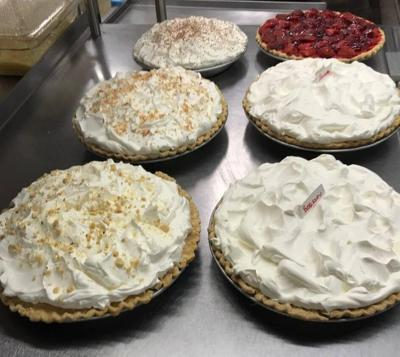 Blue's Cafe pies