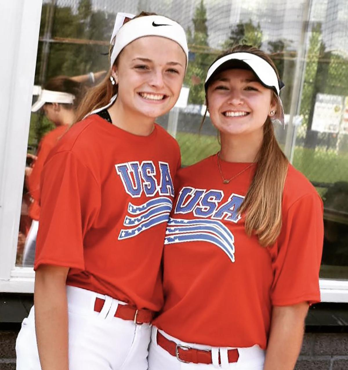 Area softball players play miles, and continents, away
