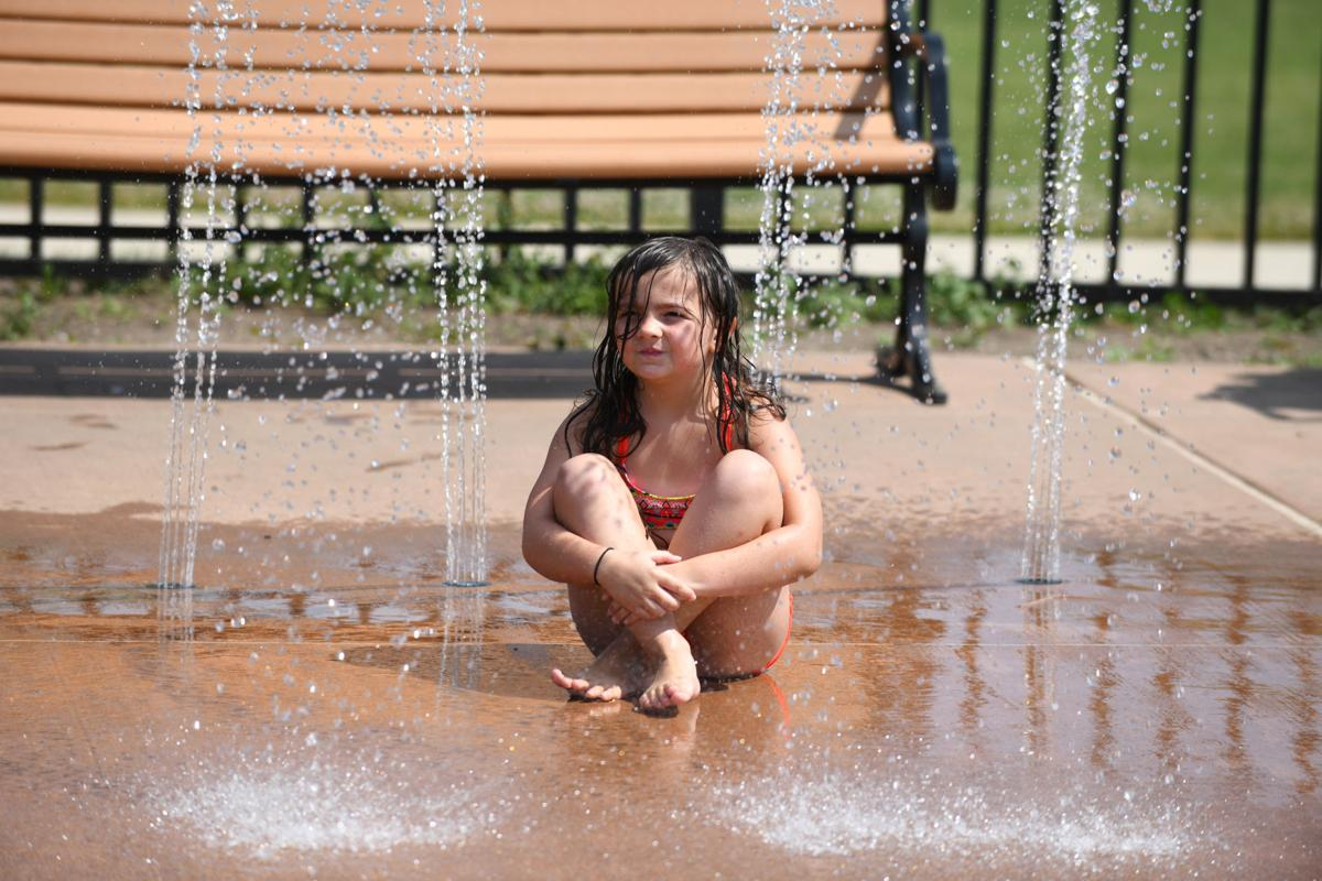 Heat makes waves across county