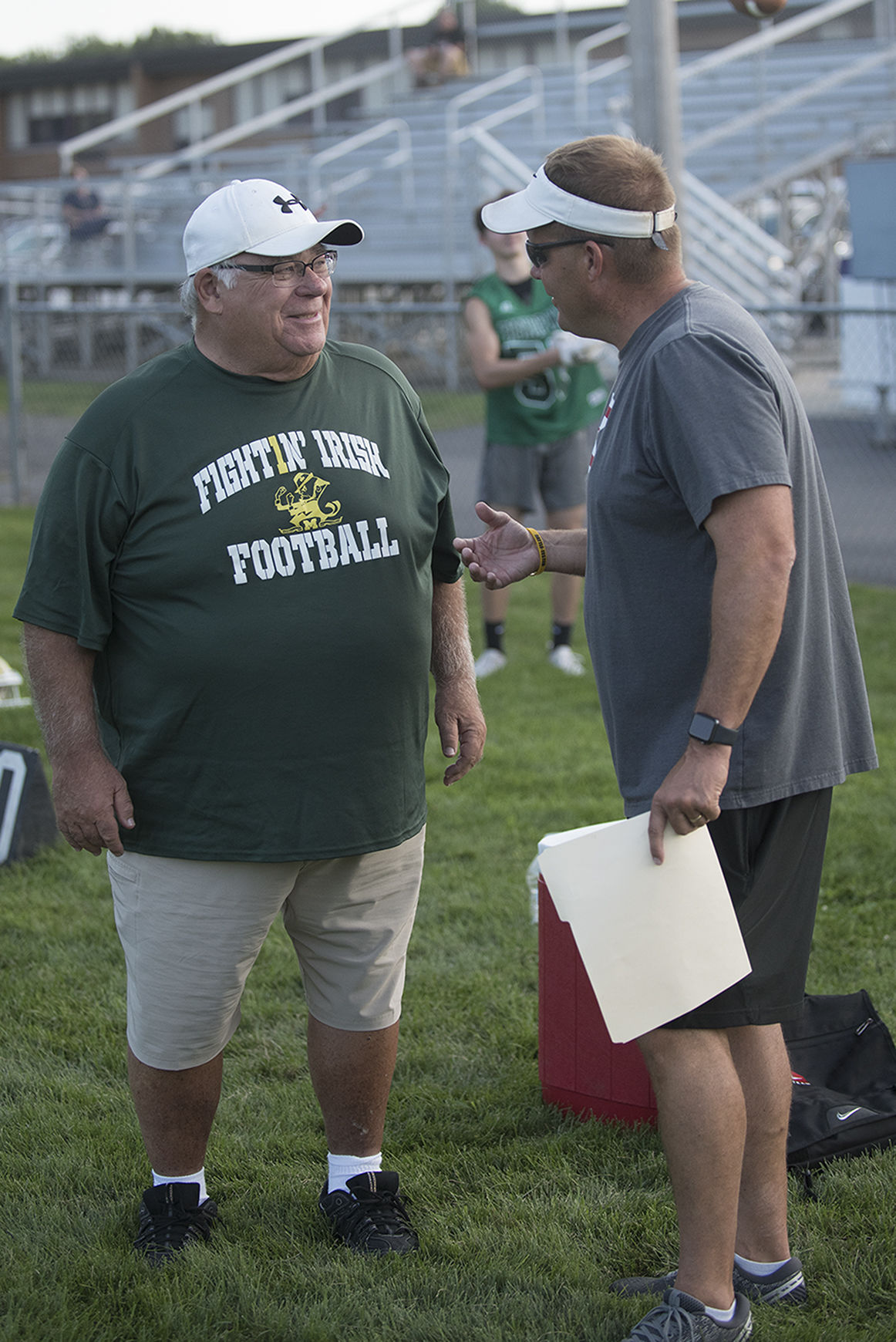 Hall-of-Fame coaches meet up for 7-on-7