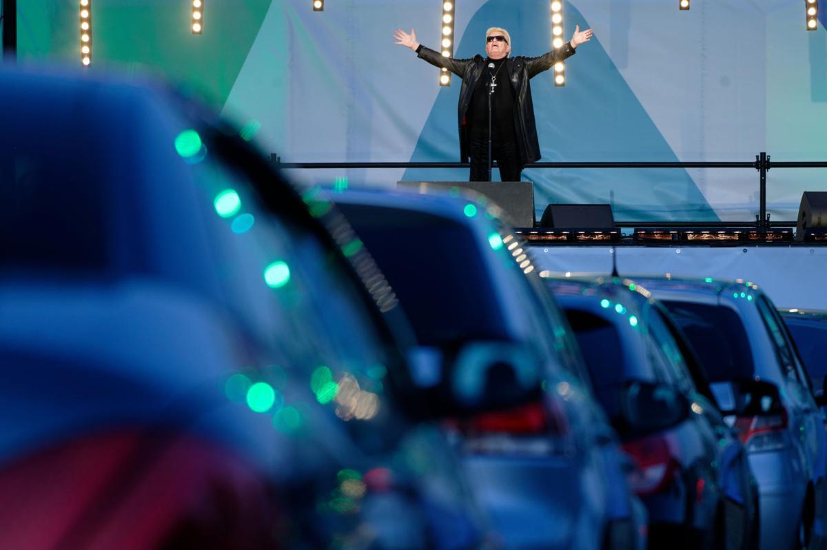 Virus Outbreak Germany Car Concert